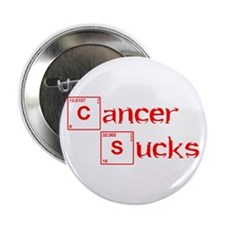 "cancer-sucks-break-red 2.25"" Button"