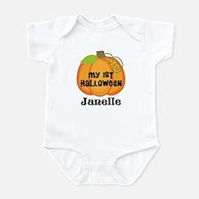 Personalized Halloween Pumpkin Infant Bodysuit