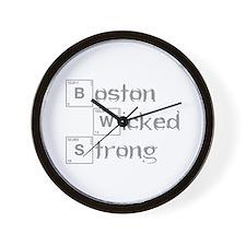 boston-wicked-strong-break-gray Wall Clock