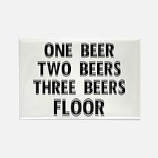 1 Beer.. Floor Rectangle Magnet