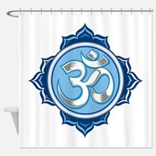 Lotus Om Shower Curtain