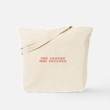 LEGEND-HAS-RETIRED-kon-red Tote Bag