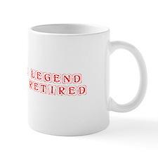 LEGEND-HAS-RETIRED-kon-red Mugs