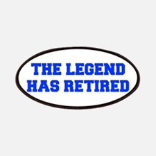 LEGEND-HAS-RETIRED-FRESH-BLUE Patches