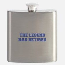 LEGEND-HAS-RETIRED-FRESH-BLUE Flask