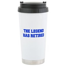 LEGEND-HAS-RETIRED-FRESH-BLUE Travel Mug