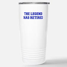 LEGEND-HAS-RETIRED-FRESH-BLUE Travel Mug