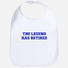 LEGEND-HAS-RETIRED-FRESH-BLUE Bib