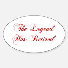 LEGEND-HAS-RETIRED-cho-red Decal