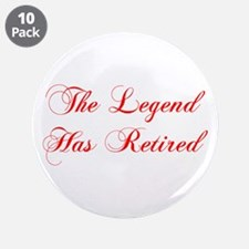 """LEGEND-HAS-RETIRED-cho-red 3.5"""" Button (10 pack)"""
