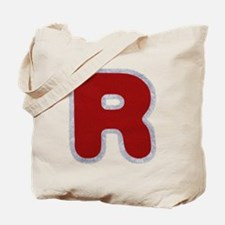 R Santa Fur Tote Bag