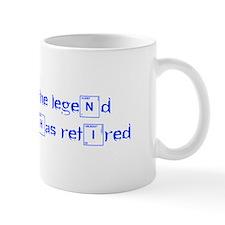 LEGEND-HAS-RETIRED-break-blue Mugs
