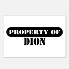 Property of Dion Postcards (Package of 8)