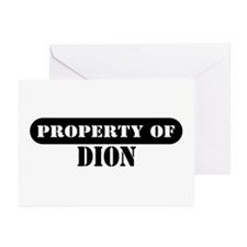 Property of Dion Greeting Cards (Pk of 10)
