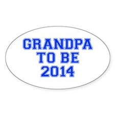 GRANDPA-to-be-2014-VAR-BLUE Decal