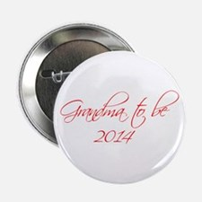 """grandma-to-be-2014-scr-red 2.25"""" Button"""