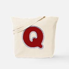 Q Santa Fur Tote Bag