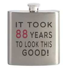 It Took 88 Birthday Designs Flask