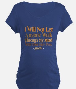 Through My Mind With Dirty Feet T-Shirt
