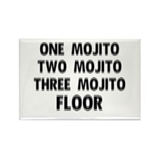 1 Mojito...Floor Rectangle Magnet