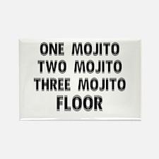 1 Mojito...Floor Rectangle Magnet