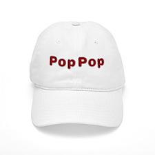 PopPop Santa Fur Baseball Cap