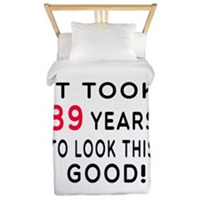 It Took 89 Birthday Designs Twin Duvet