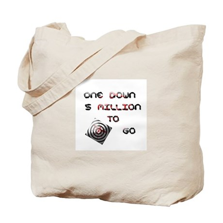 one down Tote Bag
