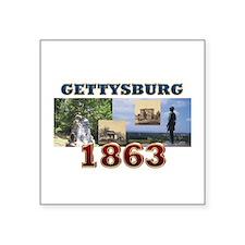 """ABH Gettysburg Square Sticker 3"""" x 3"""""""