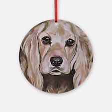 Cocker Spaniel - Sadie Round Ornament