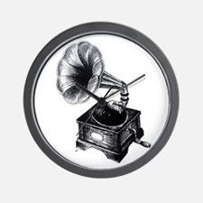 Gramophone Wall Clock