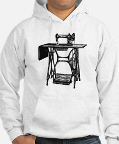 Vintage Sewing Machine Hoodie