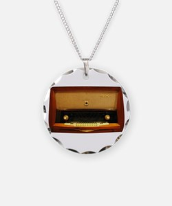 Vintage Radio Necklace