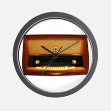 Vintage Radio Wall Clock