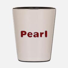Pearl Santa Fur Shot Glass