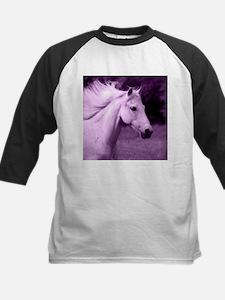 Purple Horse Head Baseball Jersey