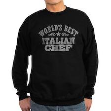 World's Best Italian Chef Sweatshirt