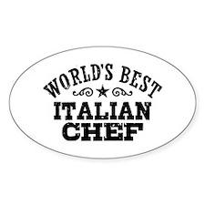 World's Best Italian Chef Decal