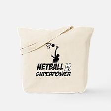 Super power Nettball designs Tote Bag