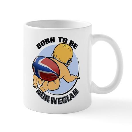 """""""Born to be Norwegian"""" Mug"""