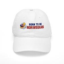 """Born to be Norwegian"" Baseball Cap"
