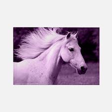 Purple Horse Head Magnets