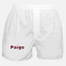 Paige Santa Fur Boxer Shorts
