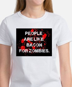 People are like Bacon for Zombies T-Shirt