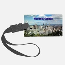 Montreal, Canada Luggage Tag