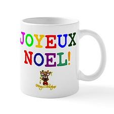 CHRISTMAS - JOYEUX NOEL - REINDEER! Mugs