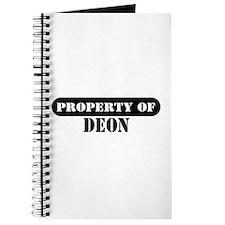Property of Deon Journal