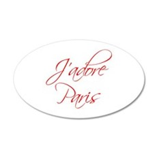 paris-scr-red Wall Decal
