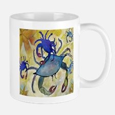 Sandy Crab Mugs