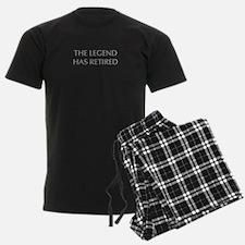 LEGEND-HAS-RETIRED-OPT-GRAY Pajamas